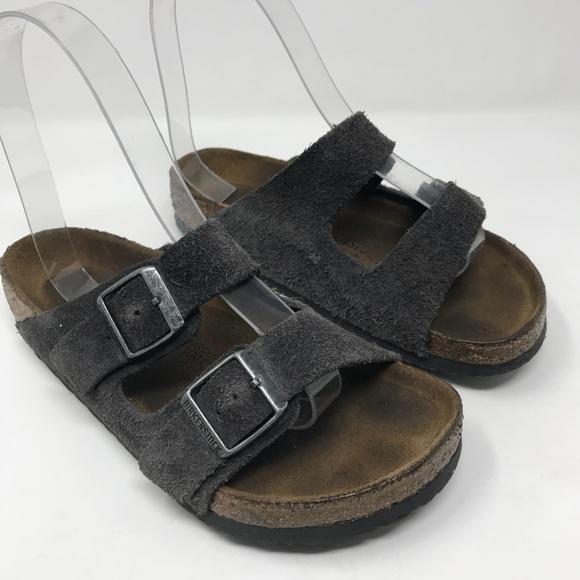 46b03e176d2 Birkenstock Shoes - Birkenstock Arizona grey suede sandals